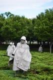 Washington DC, Korean War Memorial Stock Image
