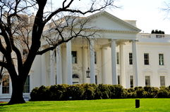Washington, DC: La Casa Bianca  Fotografie Stock Libere da Diritti