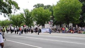 Washington DC, le 4 juillet 2017 : Le défilé pour le défilé du 4 juillet de Washington District de Colombie Etats-Unis clips vidéos