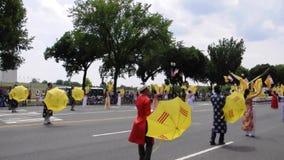 Washington DC, le 4 juillet 2017 : Le défilé pour le 4 juillet de Washington District de Colombie Etats-Unis clips vidéos