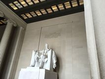 Washington DC Lincoln Memorial Lizenzfreies Stockbild