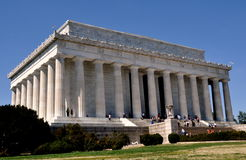 Washington, DC: The Lincoln Memorial Stock Images
