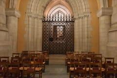 WASHINGTON DC, los E.E.U.U. - 17 de mayo de 2018 - iglesia histórica de la bóveda de Washington Cathedral Foto de archivo libre de regalías