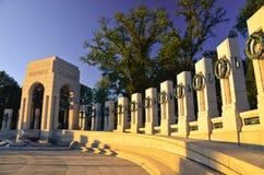 Washington DC - mémorial de la deuxième guerre mondiale image libre de droits