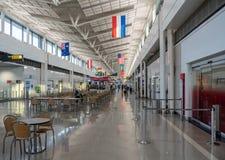 Terminal A at Washington Dulles airport Royalty Free Stock Image