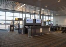 Terminal A at Washington Dulles airport Royalty Free Stock Photo