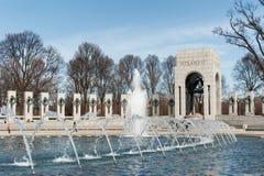 Washington DC memorial to World War two Stock Image