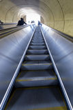 Washington DC Metro escalator. Going up stock photo