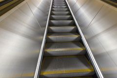 Washington DC Metro escalator. With no people stock image