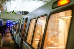 Washington DC Metro Royalty Free Stock Photography
