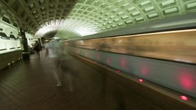 Washington DC Metro Rail / Subway stock video