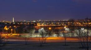 Washington DC miasta linia horyzontu Zdjęcie Royalty Free