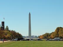 Washington DC Washington Monument Arkivbild