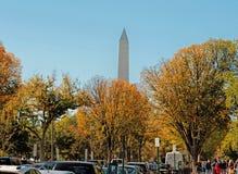 Washington DC Washington Monument Royaltyfri Bild