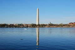 Washington DC Monument Royalty Free Stock Photos