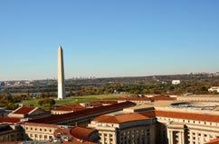 Washington DC, monumento di Washington in autunno Immagine Stock Libera da Diritti