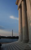 Washington DC Monuments Royalty Free Stock Image