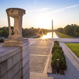 Washington DC at National Mall Stock Photography