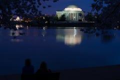Washington DC at night Stock Photography