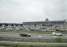 Washington DC, o 5 de julho: Aeroporto de Washington District de Colômbia EUA Imagem de Stock