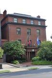 Washington DC, o 5 de julho de 2017: Embaixada da construção de Portugal de Washington Columbia District EUA Foto de Stock Royalty Free