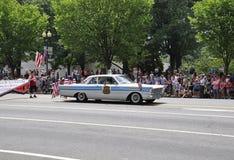 Washington DC, o 4 de julho de 2017: A parada para a parada do 4 de julho de Washington District de Colômbia EUA Fotografia de Stock