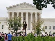 WASHINGTON, DC - OCTOBER 06, 2018: Supreme Court Protests again royalty free stock photos