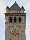 Washington DC - Old Post Office clock tower royalty free stock photography