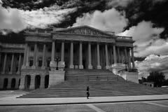 Washington DC på en klar dag Arkivbild