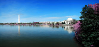 Washington DC panorama Stock Photography