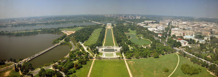 Washington DC Panorama Royalty Free Stock Photos