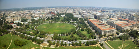 Washington DC Panorama Stock Image