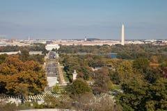 Washington DC panorama obraz royalty free