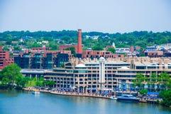 Washington DC pelo rio foto de stock royalty free