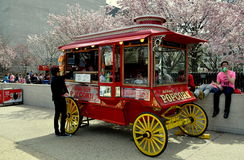 Washington, DC: Popcorn Wagon at NASA Museum Stock Images