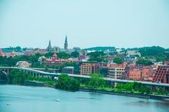 Washington DC by the Potomac river Stock Photo