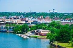 Washington DC by the Potomac river Stock Photos
