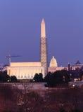 Washington DC punkty zwrotni Obrazy Royalty Free
