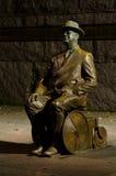Washington DC, Roosevelt Gedenkteken, de lijn van het Brood Stock Foto
