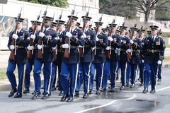 Washington DC Saint Patrick's Day Parade. Stock Photo
