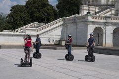 Washington DC Segway Tour Royalty Free Stock Image