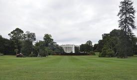 Washington DC, Sierpień 5th: Biały Domowy budynek od Waszyngtońskiego dystryktu kolumbii fotografia stock