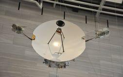 Washington DC, Sierpień 5th: Ziemska satelita w Smithonian Krajowym powietrzu i Astronautyczny muzeum od washington dc w usa Obraz Royalty Free