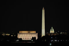 Washington DC Skyline Royalty Free Stock Photo