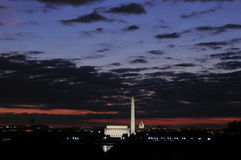 Washington DC Skyline Royalty Free Stock Image
