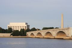 Washington, DC Skyline Royalty Free Stock Images