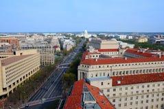 Washington DC-Skyline stockbilder