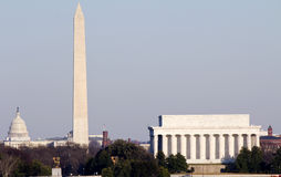 Washington DC skyline Stock Photos