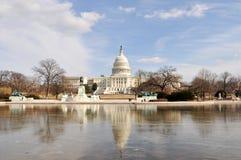 Washington DC-Staat-Kapitol Stockbilder