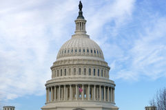 Washington DC, Stany Zjednoczone Luty 2nd 2017 - Wzgórze Kapitolu b Zdjęcia Royalty Free